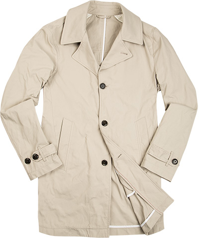 tommy hilfiger tailored mantel in beige. Black Bedroom Furniture Sets. Home Design Ideas