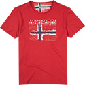 NAPAPIJRI T-Shirt old red N0YGIV094