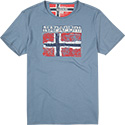 NAPAPIJRI T-Shirt captain blue N0YGIVI93