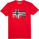NAPAPIJRI T-Shirt bright red N0YG7BR47