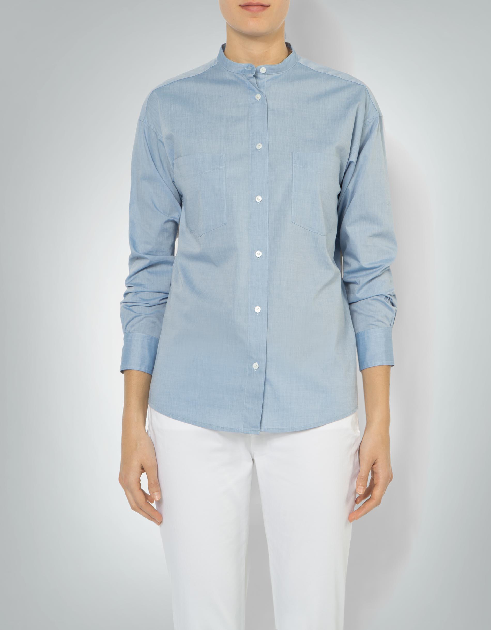 Gant Damen Bluse mit Stehkragen empfohlen von Deinen Schwestern b46814c2b3