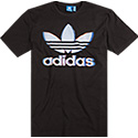 adidas ORIGINALS T-Shirt black BQ3074