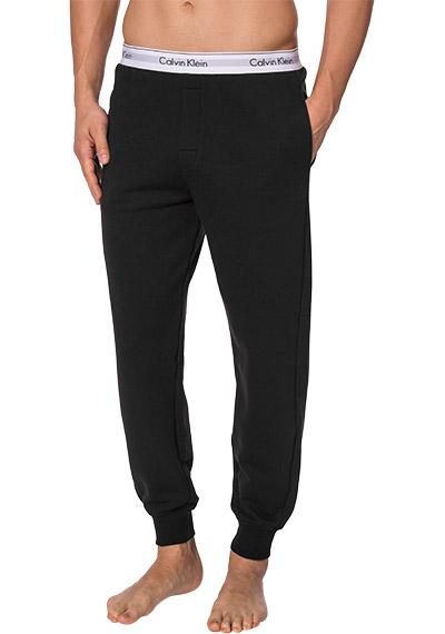 calvin klein modern cotton jogger pyjamahose baumwolle schwarz von calvin klein underwear bei. Black Bedroom Furniture Sets. Home Design Ideas