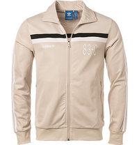 adidas ORIGINALS Sweatjacke clear brown