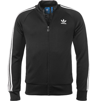 adidas ORIGINALS Sweatjacke black BK5921