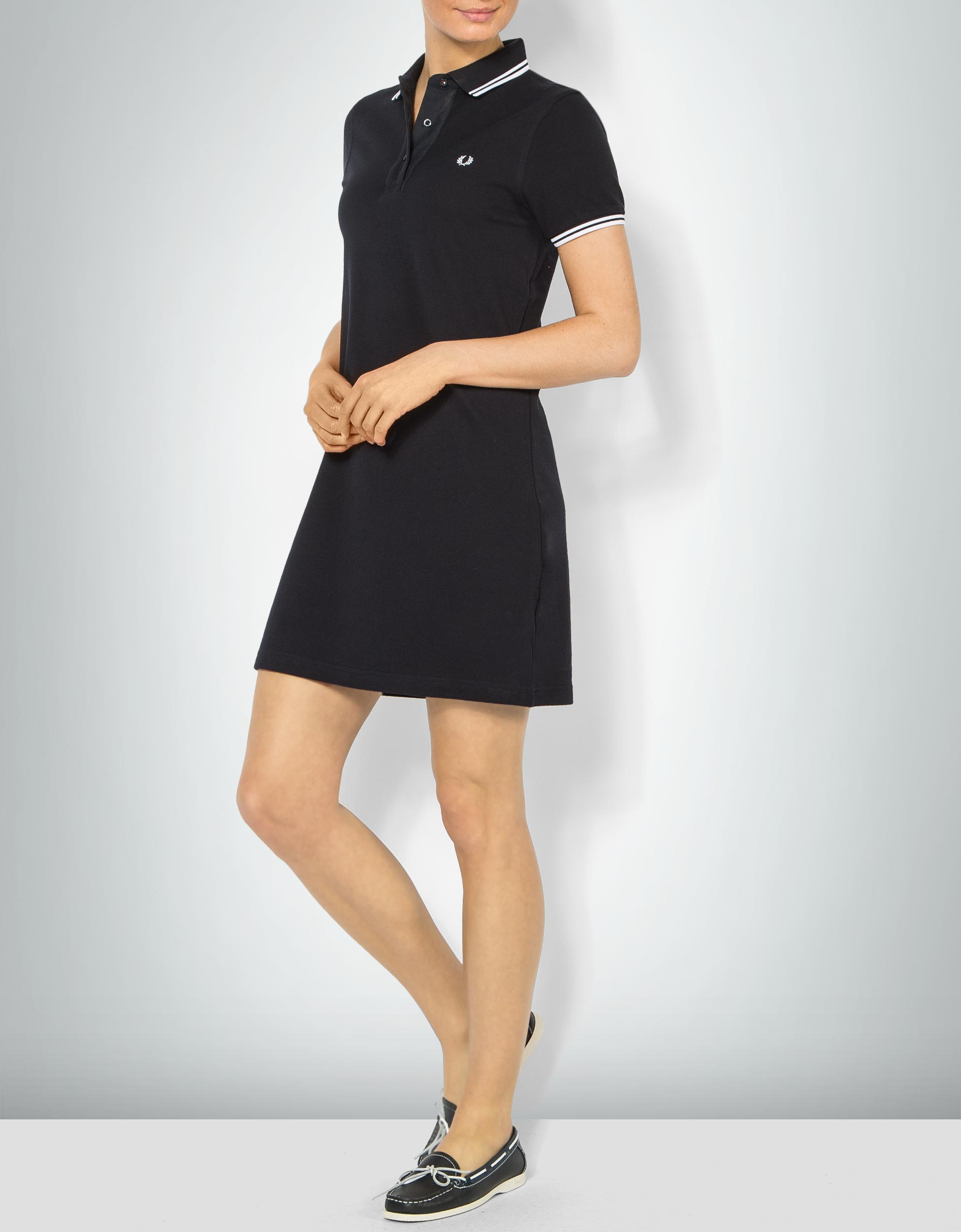 Perry Kleid Im Piqué Fred Empfohlen Von Damen Polo Look Shirt rCBoeWQdxE