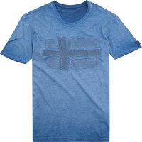 NAPAPIJRI T-Shirt platine blue