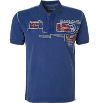 NAPAPIJRI Polo-Shirt platine blue