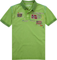 NAPAPIJRI Polo-Shirt piquant green