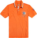 NAPAPIJRI Polo-Shirt bright orange N0YG7SA12