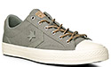 Converse STAR PLAYER OX camo green 155411C