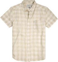 Wrangler Hemd whitecap beige