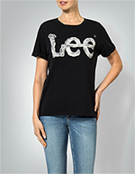 Lee Damen T-Shirt black L40I/EP01