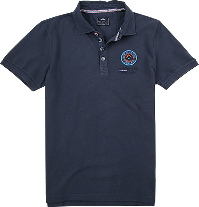 N.Z.A. Polo-Shirt 17BN100C/marine blue