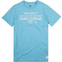 N.Z.A. T-Shirt blue