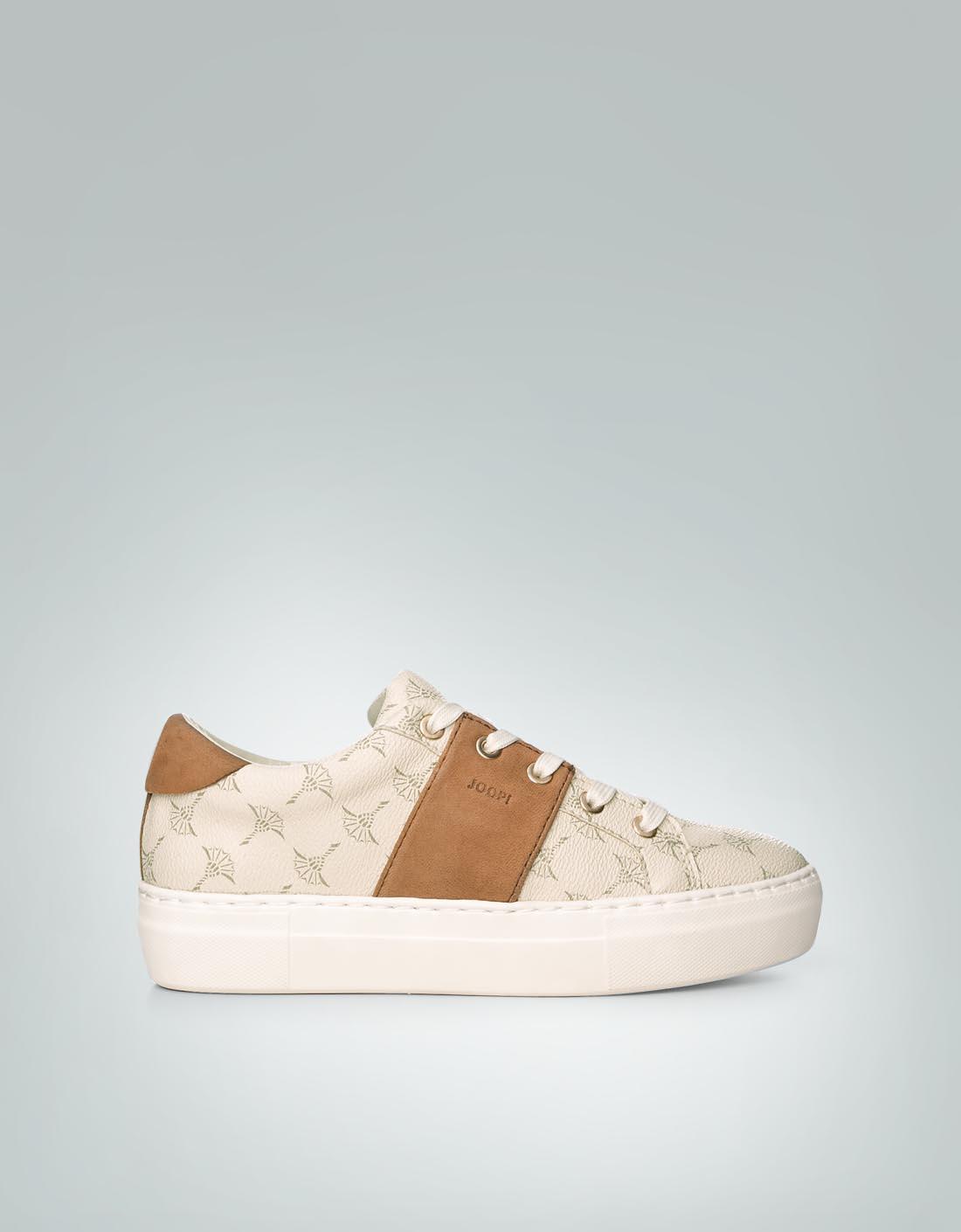 JOOP Damen Schuhe Sneaker im Allover-Dessin beige 5WnwUoB