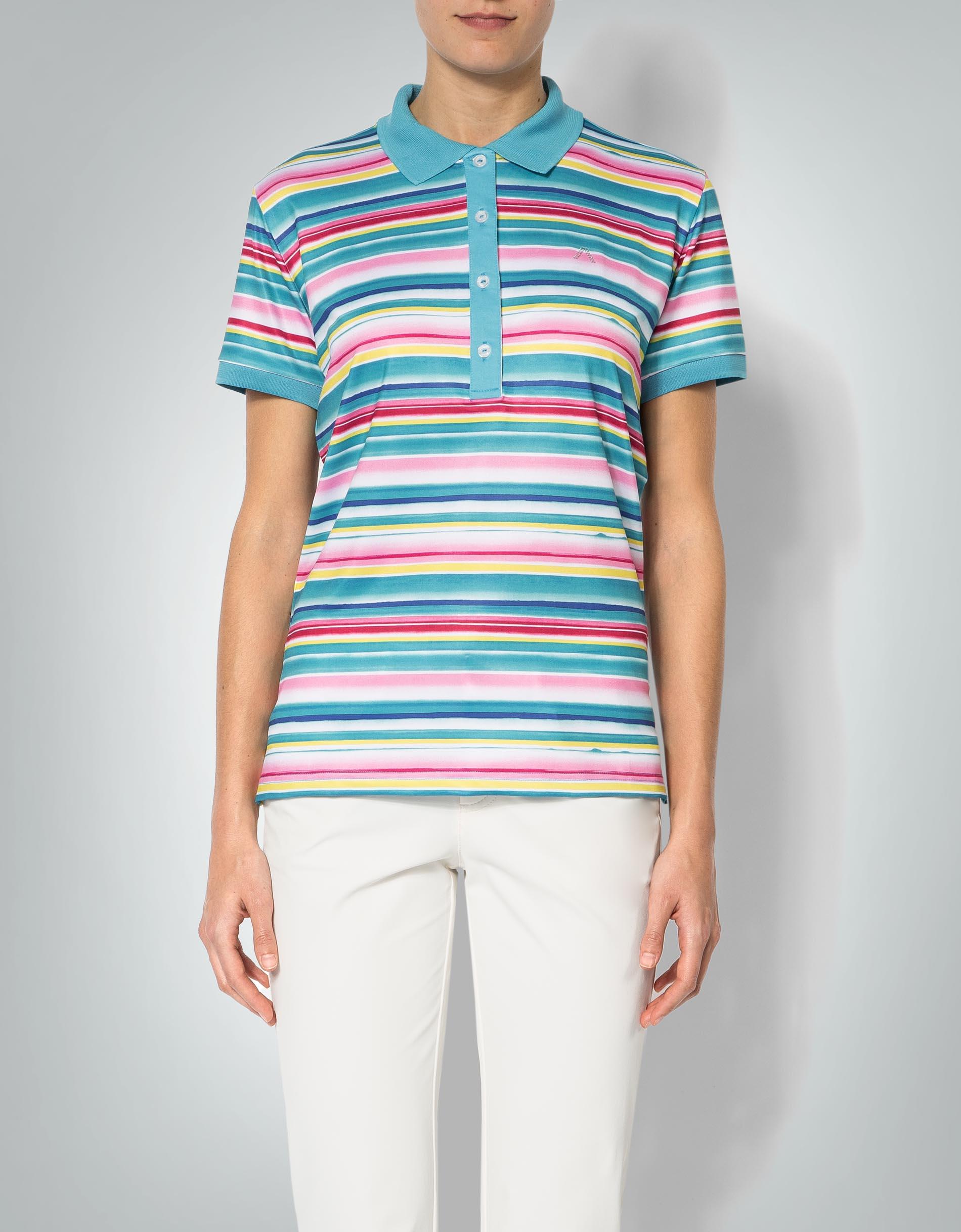 alberto golf damen polo shirt lynn im streifen dessin empfohlen von deinen schwestern. Black Bedroom Furniture Sets. Home Design Ideas