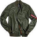 ALPHA INDUSTRIES M-1 Lederjacke 176151/257