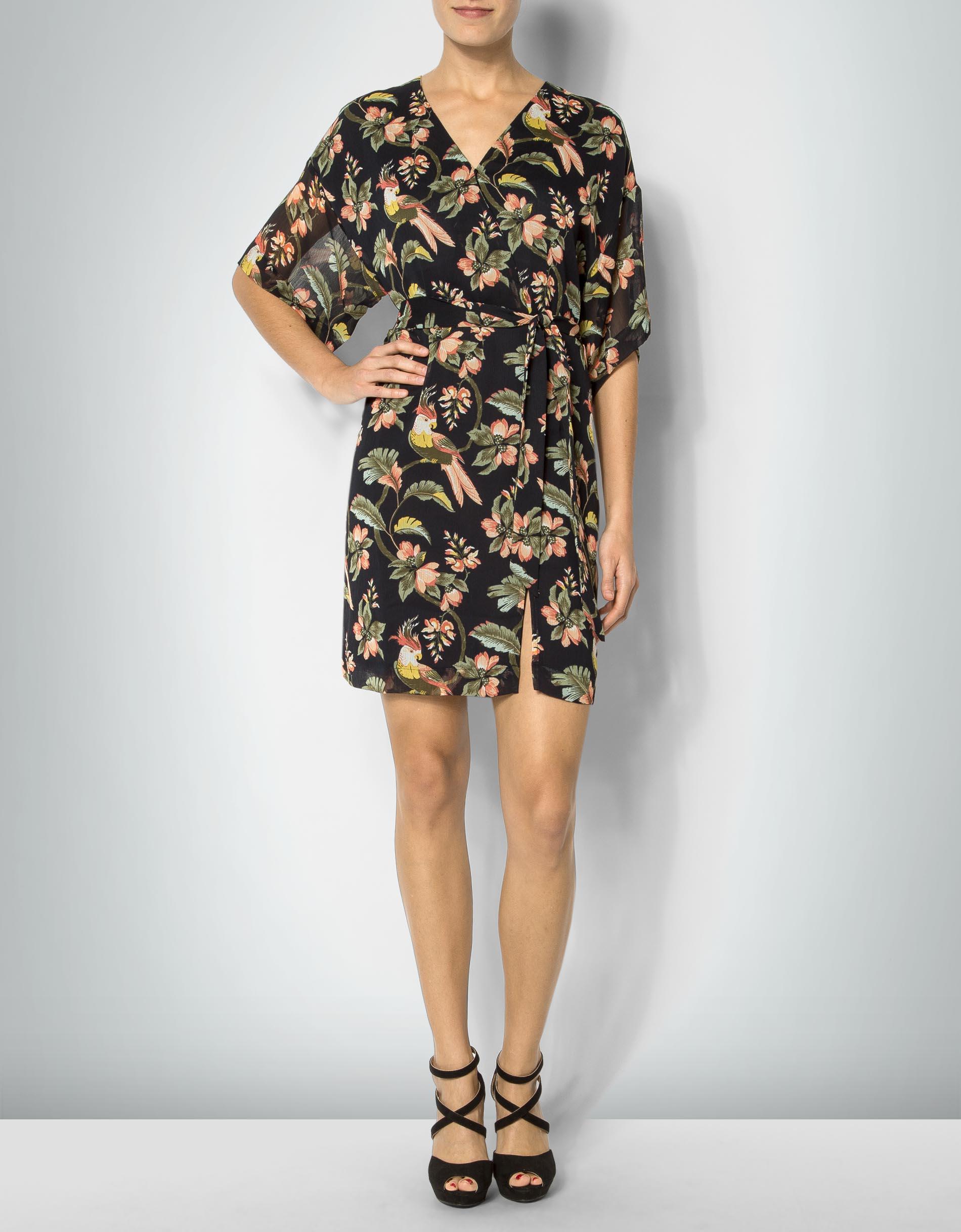 Pepe Jeans Damen Kleid Heidi Mit Tropischem Print Empfohlen Von