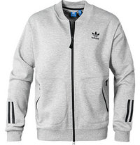 adidas ORIGINALS Sweatjacke grey