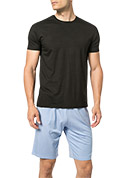 DEREK ROSE Short Sleeve T-shirt 3048/BASE001BLA