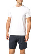 DEREK ROSE Short Sleeve T-shirt 3048/BASE001WHI