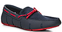 SWIMS Braided Lace Loafer 21215/navy-red