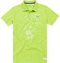 N.Z.A. Polo-Shirt 17DN108/neon green