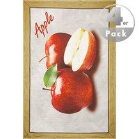 Geschirrtuch Apple 4er Pack