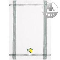 Geschirrtuch Zitrone 4er Pack