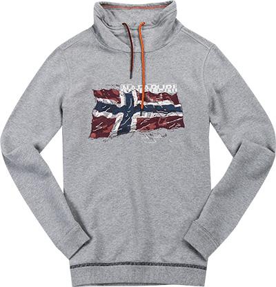 NAPAPIJRI Sweatshirt grey melange