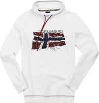 NAPAPIJRI Sweatshirt white