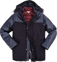 Aigle Jacke Woodfielder Mix dark navy