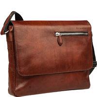 bugatti Domus Messenger Bag L congnac