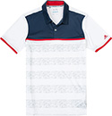 adidas Golf Polo-Shirt white BC1838