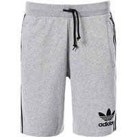 adidas ORIGINALS striped shorts grey