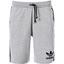 adidas ORIGINALS striped shorts grey BR6976