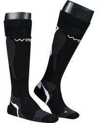 wapiti Skisocken Paar schwarz
