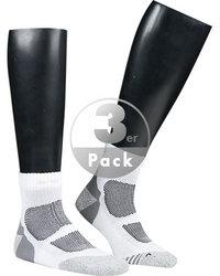 wapiti Laufsocken weiß 2er Pack