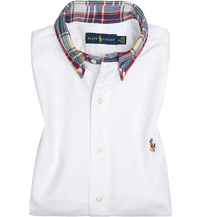 Polo Ralph Lauren Hemd white 710663425001