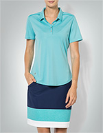 adidas Golf Damen Polo-Shirt blue glow BC1142