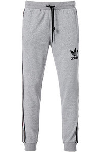adidas ORIGINALS striped pant grey