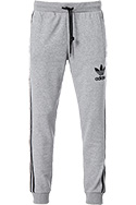 adidas ORIGINALS striped pant grey BR2159