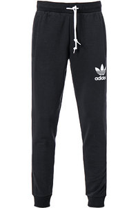 adidas ORIGINALS striped pant black