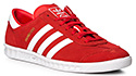 adidas ORIGINALS Hamburg red BY9757