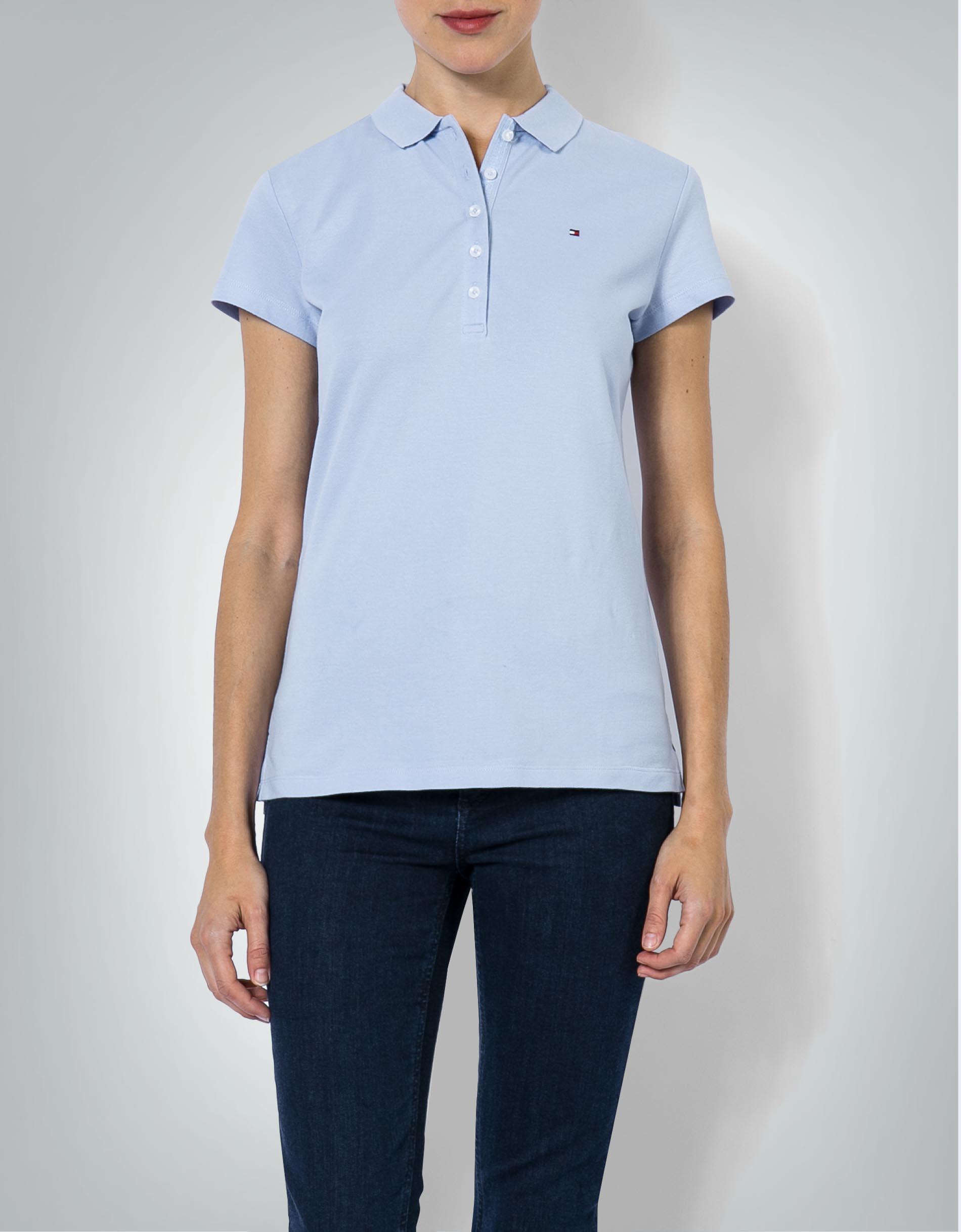 gesamte Sammlung heißer Verkauf online heiß-verkauf echt Tommy Hilfiger Damen Polo-Shirt im Slim Fit empfohlen von ...