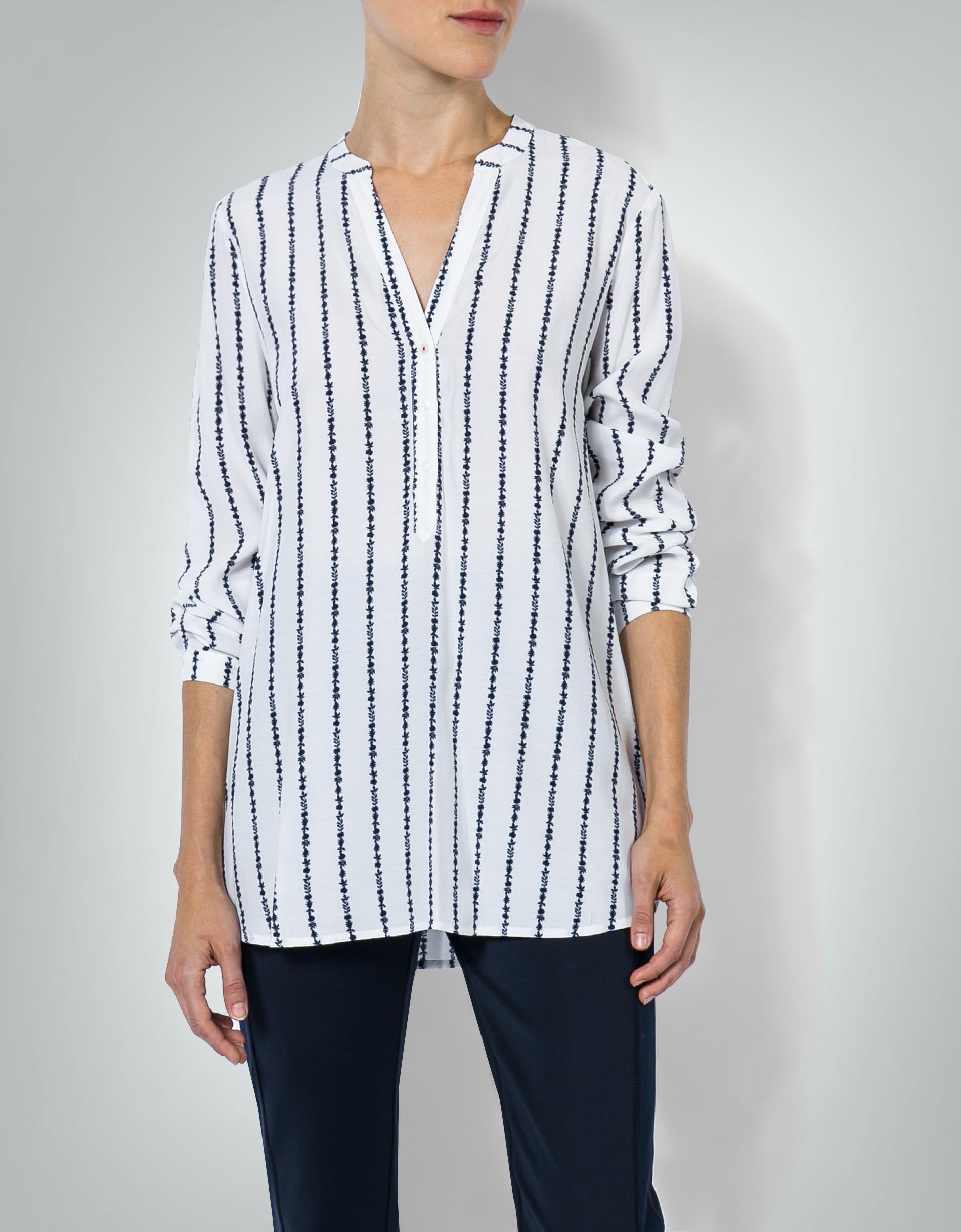 tommy hilfiger damen bluse tunika mit streifenmuster. Black Bedroom Furniture Sets. Home Design Ideas