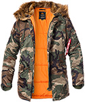 ALPHA INDUSTRIES Jacke N-3B VF 59  103141/408