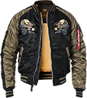 ALPHA INDUSTRIE Jacke Japan Dragon 178138/03