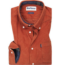 Barbour Hemd Morris dark clay